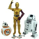 StarWars figurine : Takara Tomy Star Wars The Force Awakens 30.5cm Figurine BB-8 & C-3PO & RO-4LO