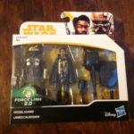 StarWars figurine : STAR WARS FORCE LINK 2.0 KESSEL GUARD & LANDO CALRISSIAN HTF 2-PACK