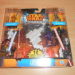 """StarWars collection : STAR WARS COMMAND """"duel jedi"""" 12 figurines et véhicules - neuf"""