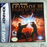 STAR WARS EPISODE III 3 Revenge of the Sith - jeu StarWars