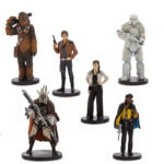 StarWars collection : Coffret 6 figurines Star Wars A Story Solo Disney Store Neuf #3