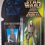 Figurine StarWars : Figurine Star wars Luke Skywalker in Hoth gear TRI LOGOS 1996
