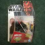 StarWars collection : Figurine Star Wars hasbro  MH15 Darth Maul