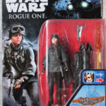 StarWars collection : Figurine STAR WARS ROGUE SERGENT JYN ERSO EADU NEUF BLISTER HASBRO DISNEY 2016