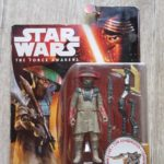StarWars collection : figurine star wars the force awakens constable zuvio b3968 en boite etat neuf