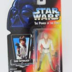 StarWars collection : Kenner Star Wars Luke Skywalker The Power of the Force White Figurine 1995