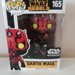 Figurine StarWars : Funko Pop! Vinyl Figure Star Wars Rebels DARTH MAUL Smugglers Bounty Exc #165