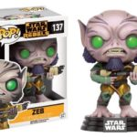 Figurine FUNKO POP - Star Wars REBELS - ZEB - - Bonne affaire StarWars
