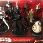 "StarWars figurine : Disney Star Wars Deluxe Figurine Play set ""THE FORCE AWAKENS"" ""Sealed NIB"