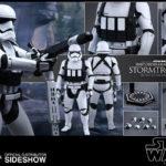 StarWars collection : Hot Toys Star Wars Premier Ordre Lourd Gunner Stormtrooper Action Figurine 1/6