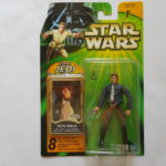 "StarWars collection : STAR WARS HASBRO FIGURINE  "" HAN SOLO ""  POTJ  MINT IN BOX"