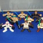 StarWars figurine : 9 Star Wars Galactic Heroes Figurines Lot #2 en Vrac Star Wars Kp