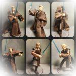 StarWars figurine : Star Wars Évolution Anakin Attaque des Clones 9.5cm Figurine 100% Complete