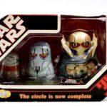 Figurine StarWars : Star Wars Chubby Series 1 - General Grievous Figurine Set