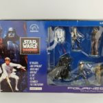 StarWars collection : APPLAUSE 8 PC STAR WARS CLASSIC COLLECTOR'S SERIES FIGURINE SET W/PLATFORMS