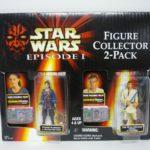 StarWars figurine : Star Wars Padme Naberrie & Obi Wan Kenobi Figurine Collecteur 2-Pack Misp 1999