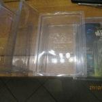 StarWars figurine : Star Wars lot de 4 star case plastique transparent  pour figurine sous blister