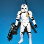 Figurine StarWars : Star Wars Clone Ingénieur Front II Desseré Complet