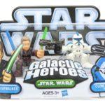 StarWars figurine : Star Wars Galactic Heroes Mini Figurines 2 Paquet - Anakin Skywalker