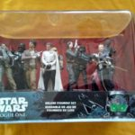 StarWars collection : Star Wars Rogue One: A Star Wars Story Deluxe Figurine Set Disney store
