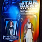 "StarWars collection : 1995 Star Wars ""The Power of the Force"" BEN OBI-WAN KENOBI figurine Kenner"