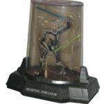 StarWars collection : Star Wars Titanium Série 4 Général Grievous Hasbro Figurine W/ Étui