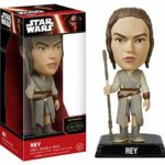 Figurine StarWars : Star Wars VII The Force Awakens Rey Wacky Wobblers Bobble Head Figure FUNKO