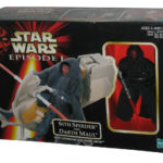 Figurine StarWars : Star Wars Episode I The Phantom Menace Sith Speeder & Darth Maul Figurine Set