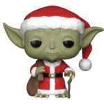 StarWars figurine : Funko Pop - Star Wars - Vacances Santa Yoda Vinyle Figurine