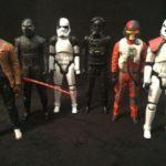 Figurine StarWars : Star Wars lot de 6 figurines Star Wars géant   ( 30 cm ) certains très rares