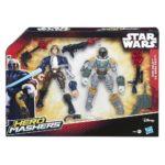 StarWars collection : Star Wars Hero Mashers Figurines Han Solo Vs. Boba Fett Hasbro B3827 Starwars