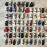 Figurine StarWars : Personnages LEGO Star Wars (Minifig Figuren Figurine) vendu à l'unité avec arme