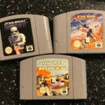 3 NINTENDO 64 N64 STAR WARS SHADOWS OF THE - Occasion StarWars