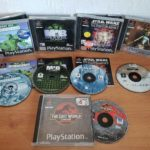 5 x Sony Playstation PS1 Games: Army Men, - Occasion StarWars