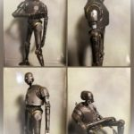 Figurine StarWars : Star Wars Série Noire 15.2cm Figurine K-2so K2-so