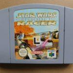 NINTENDO, N64. STAR WARS RACER EPISODE 1, - jeu StarWars