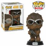 StarWars figurine : Star Wars Chewbacca avec Lunettes 9.5cm Figurine Pop Vinyle Funko 239 Solo