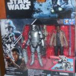 Figurine StarWars : Star Wars Force Awakens Capitaine Phasma Finn Jakku Misb Neuf Disney