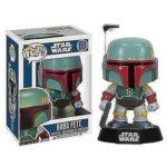 Figurine StarWars : Funko - Star Wars Boba Fett Pop Vinyle Bulle Tête #08 Action Figurine Neuf