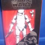 StarWars figurine : Hasbro Star Wars The Black Series The Force Awakens #04 First Order Stormtrooper