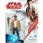 Figurine StarWars : Star Wars - Force Link - Finn Resistance Fighter (Ep VIII) BLISTER ABIMÉ - Hasbr