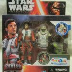 StarWars collection : Hasbro Star Wars: The Force Awakens,Epique Batailles,Poe Dameron Action Figurine