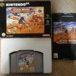 Nintendo 64 Game * STAR WARS ROGUE SQUADRON * - jeu StarWars