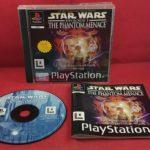 Star Wars Episode I: The Phantom Menace (Sony - jeu StarWars