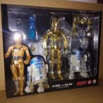 StarWars collection : Medicom Mafex 012 Star Wars C-3PO & R2-D2  New Hope Un nouvel Espoir C3PO R2D2