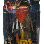 StarWars collection : Star Wars Han Solo & Chewbacca Mission Series Death Star Figurine Set MS07