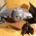 StarWars collection : Star wars Darth Vader's Tie + figurine Hasbro