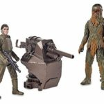 StarWars figurine : Takara Tomy Star Wars Basique Figurine 2 Pack Han Solo et Chewbacca