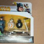 StarWars figurine : STAR WARS FIGURINE (HASBRO) ROSE (FIRST ORDER DISGUISE) + BB-8 + BB-9E