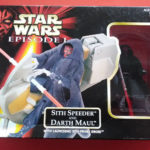 StarWars figurine : STAR WARS SITH SPEEDER AND DARTH MAUL - EPISODE 1 - ANNEE 1998 - REF 3410